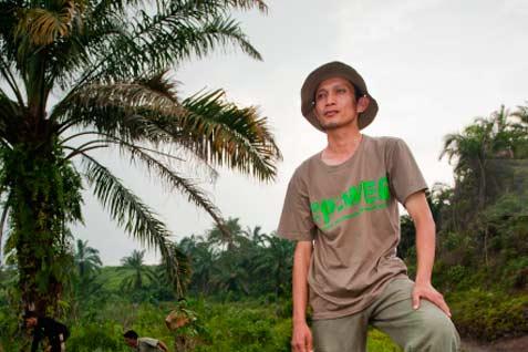Rudi Putra adalah orang Indonesia keenam yang memenangi Goldman Environmental Prize.  - Goldman Prize