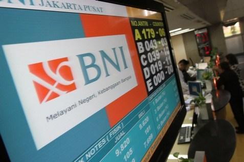 Logo BNI. Meraup laba bersih Rp2,39 Triliun pada kuartal I - Bisnis