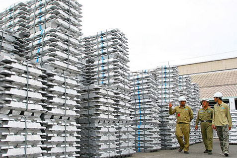 Produk aluminium olahan. Pemerintah tetapkan Inalum sebagai BUMN baru - Setkab