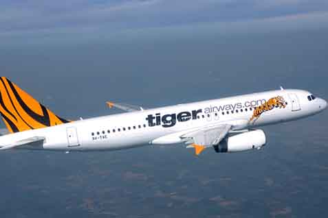 Pesawat Tigerair. Akan dicaplok Citilink - JIBI