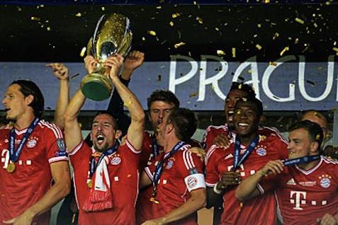 Banyern Munchen juara Liga Champion tahun lalu - JIBI