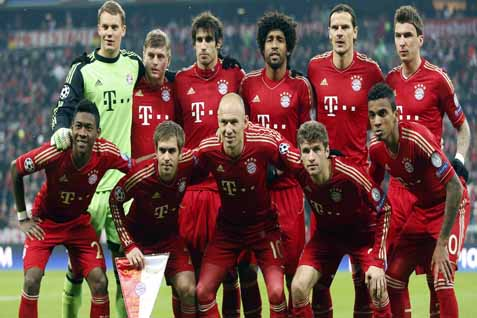 Starting Eleven Bayern Munchen - www.sporthdwallpaper.com