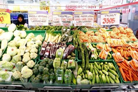 Penjualan pangan kebutuhan pokok. Disiapkan Rp2 triliun untuk atasi krisis pangan - Bisnis