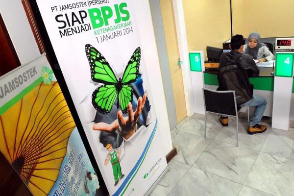 BPJS Ketenagakerjaan incar 15 juta peserta program jaminan pensiun.  - Bisnis