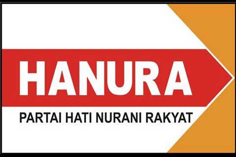 Logo partai Hanura. Disarankan koalisi dengan PDIP - Bisnis