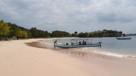 Pantai Pink di Lombok Timur - Jibiphoto/Sukirno