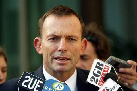 Perdana Menteri Australia Tony Abbot  - bisnis.com