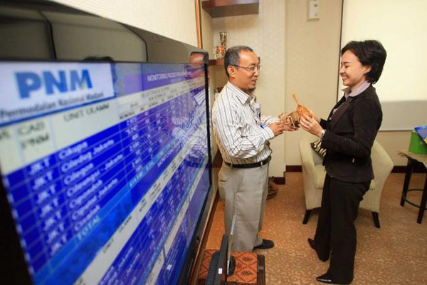 PNM fasilitasi komunikasi 500 OKM di SUbang - Bisnis/Dedi Gunawan