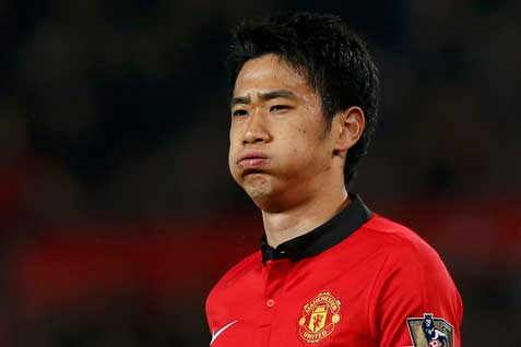 Manchester United's Shinji Kagawa - reuters