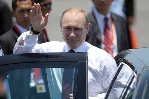 Presiden Rusia Vladir Putin. Tuduh Pangeran Charles berperilaku aneh - Reuters