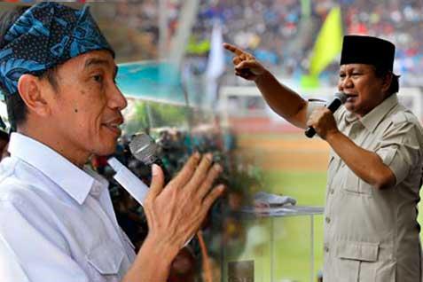 Prabowo Jokowi - Antara