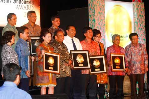 Kegiatan Bisnis Indonesia Award.   -  Bisnis.com