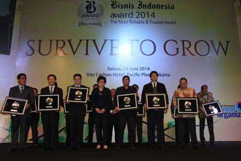 Bisnis Indonesia Award 2014 .  -