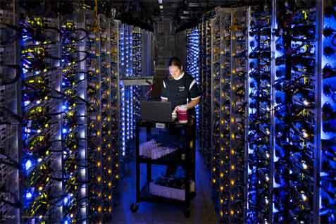 Data center. - watblog.com