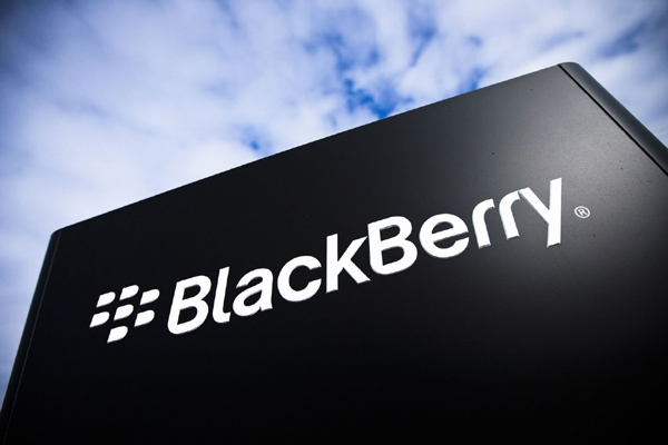 Logo Blackberry.  - Ilustrasi
