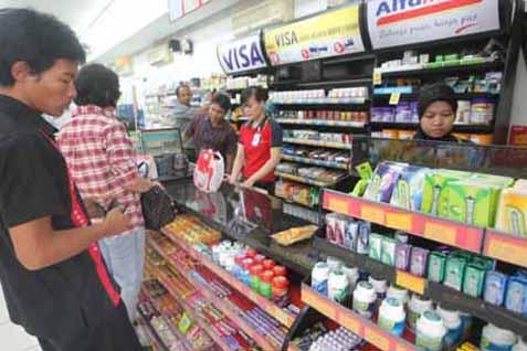 Gerai minimarket.  Tiga peritel nasional jajaki buka gerai di Manado - JIBI