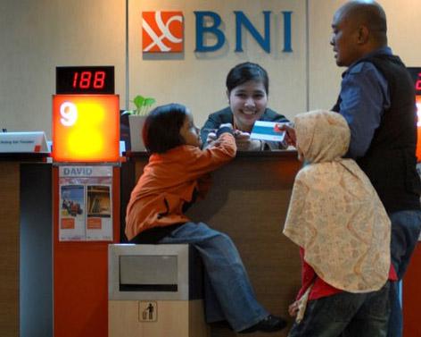 Counter Bank BNI - Bisnis