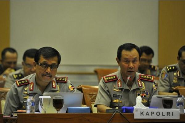 Kapolri dan jenderal senior - Antara