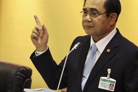 Jenderal Prayuth Chan-Ocha - Bloomberg