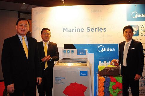 Peluncuran mesin cuci Midea Planet Indonesia - Istimewa
