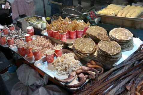 Ilustrasi Makanan Khas Korea