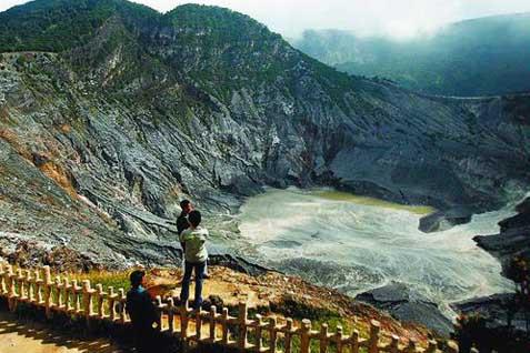 Tangguban Perahu, salah satu obyek wisata andalan Jabar - JIBI