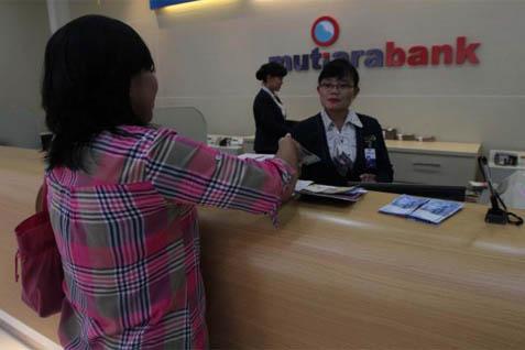 Kantor pelayanan Bank Mutiara - Bisnis