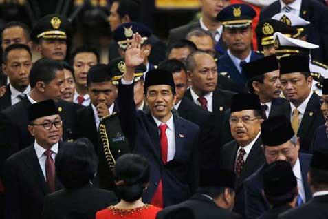 Jokowi seusai dilantik  - Reuters