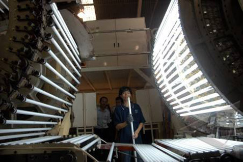 Calon investor asal Korea Selatan, Taiwan, dan China siap menanamkan investasi di sektor industri lampu.  -