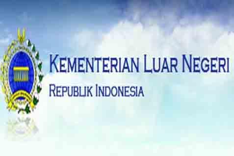 Logo Kemenlu. Kebijakan luar negeri dikaji akademisi - Antara
