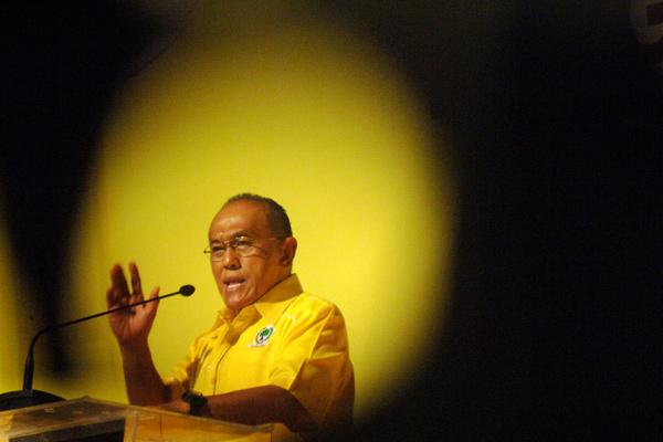 Ketua umum DPP Golkar Aburizal Bakrie