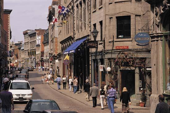 Suasana tenang di Kota Montreal lama - Mcgill.ca