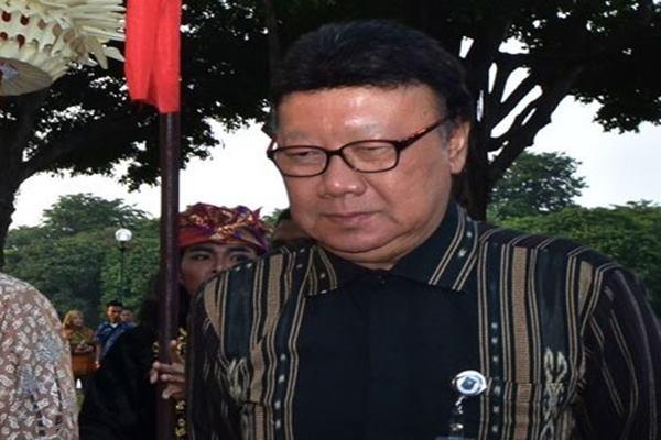 Menteri Dalam Negeri Tjahjo Kumolo - Antara