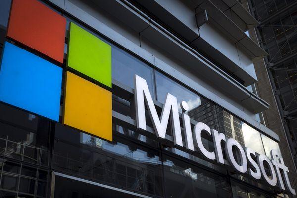 Microsoft. - .Reuters