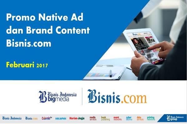 Bisnis.com menggelar sejumlah promo untuk memacu iklan digital melalui native ad.