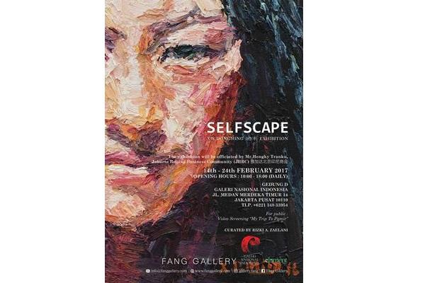 Poster Pameran Selfscape - galeri/nasional.or.id