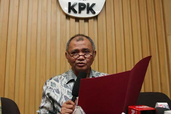 Ketua KPK Agus Rahardjo.  - Antara