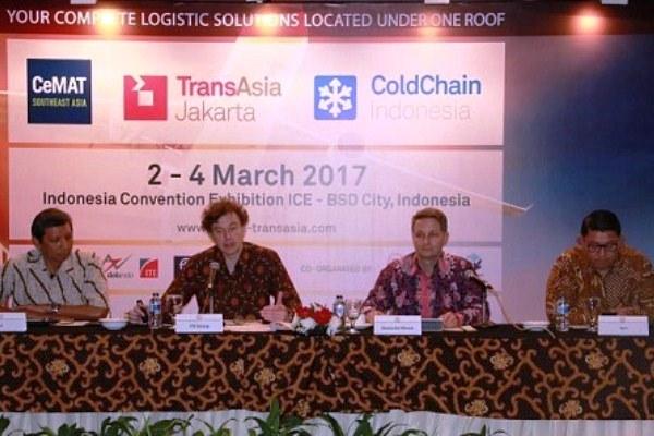 Konferensi Per Pameran Logistik