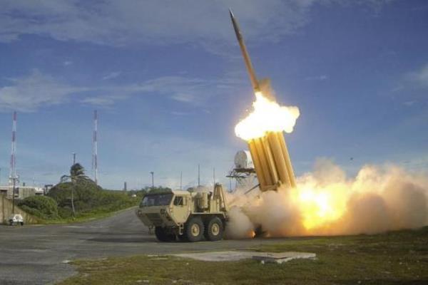 Sistem pertahanan rudal THAAD - Reuters/Badan Pertahanan Rudal, Dephan AS