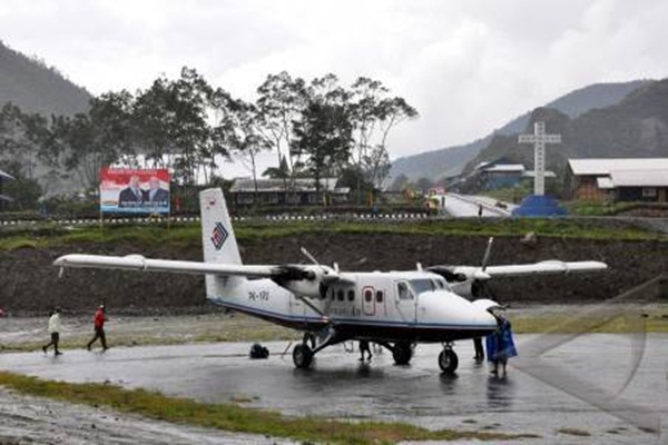 Penerbangan perintis. - Ilustrasi/Antara