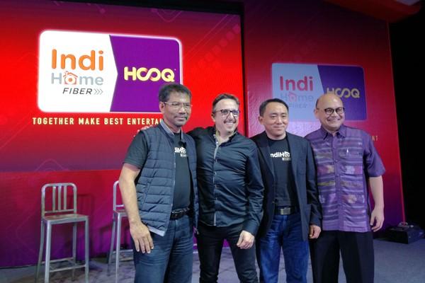 HOOQ dan Indihome bekerja sama berikan layanan video streaming - Bisnis/Agne