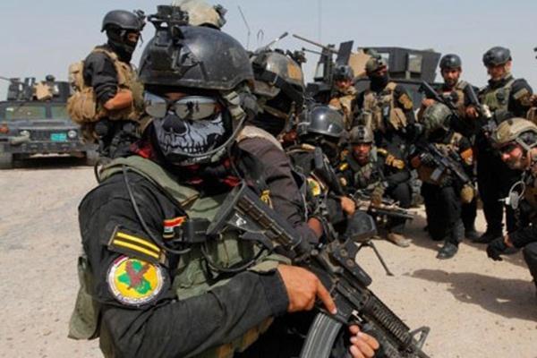 Pasukan Khusus Irak - Reuters