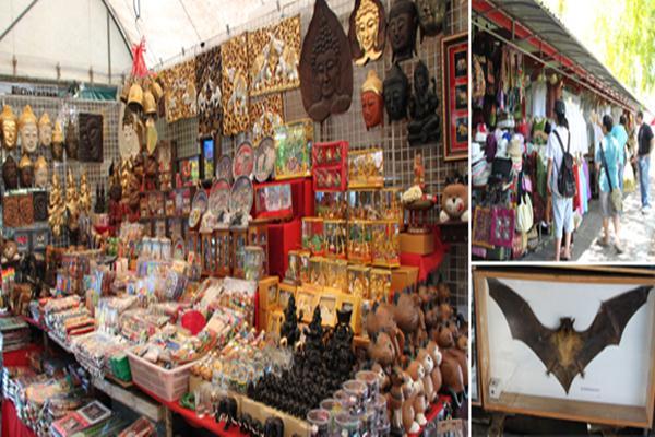 Pasar di Wat Arun, Bangkok - Istimewa