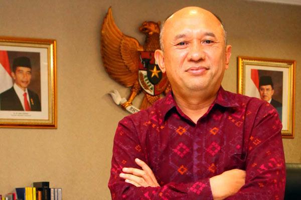 Kepala Staf Kepresidenan Republik Indonesia Teten Masduki. - ,Bisnis.com