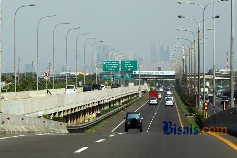 Tol dalam kota Jakarta - ilustrasi/Bisnis.com