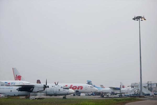 Suasana Bandara Hang Nadim Batam, Kepulauan Riau - Antara/M N Kanwa