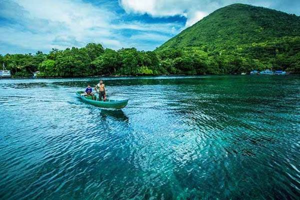 Pulau Banda tak kalah dari Raja Ampat di Papua - wisatadiektori