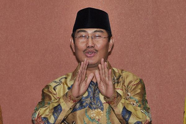 Ketua Dewan Kehormatan Penyelenggara Pemilu (DKPP) Jimly Asshiddiqie. - Antara/Sigid Kurniawan