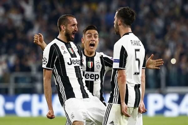 Liga Champions 2017 Juventus Hajar Barcelona Skor Akhir 3 0 Bola Bisnis Com