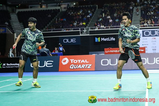 Berry Angriawan-Hardianto - Badminton Indonesia